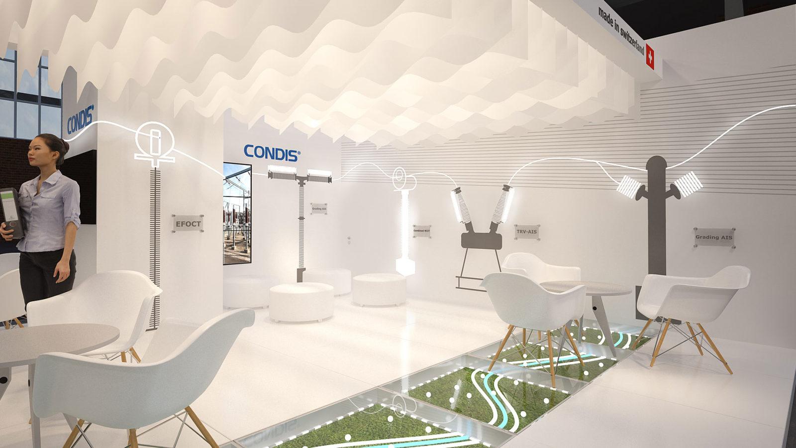 Design 3Ddu stand Condis