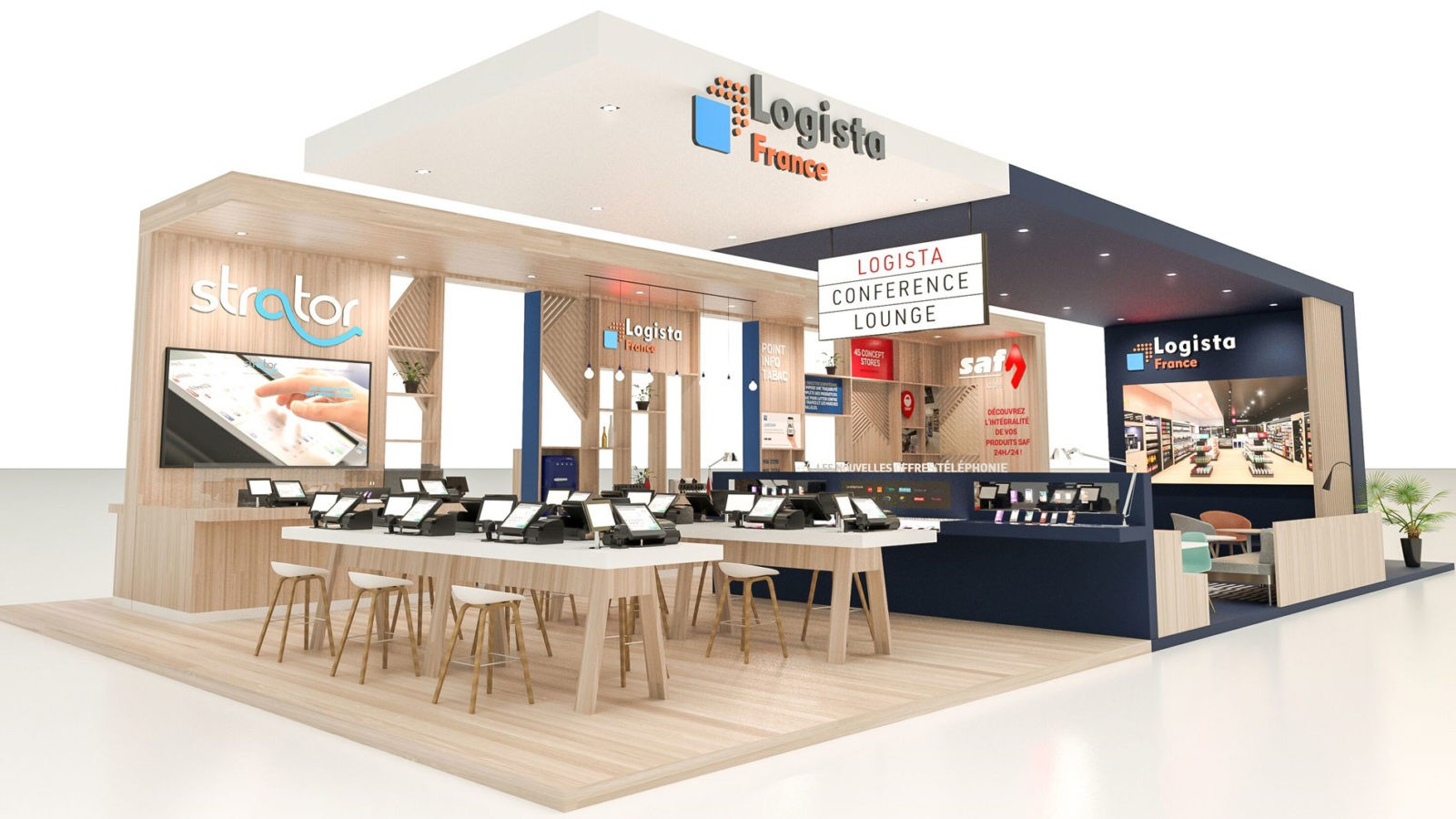 Exhibition Stand Builders France : Designing exhibition stand for your trade fairs wenes stand