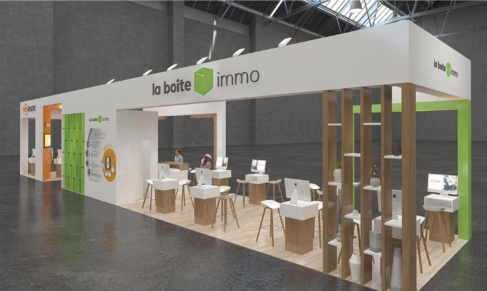 Booth at Rent exhibition | WENES STAND