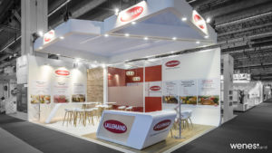Stand sur-mesure au salon Fi Europe