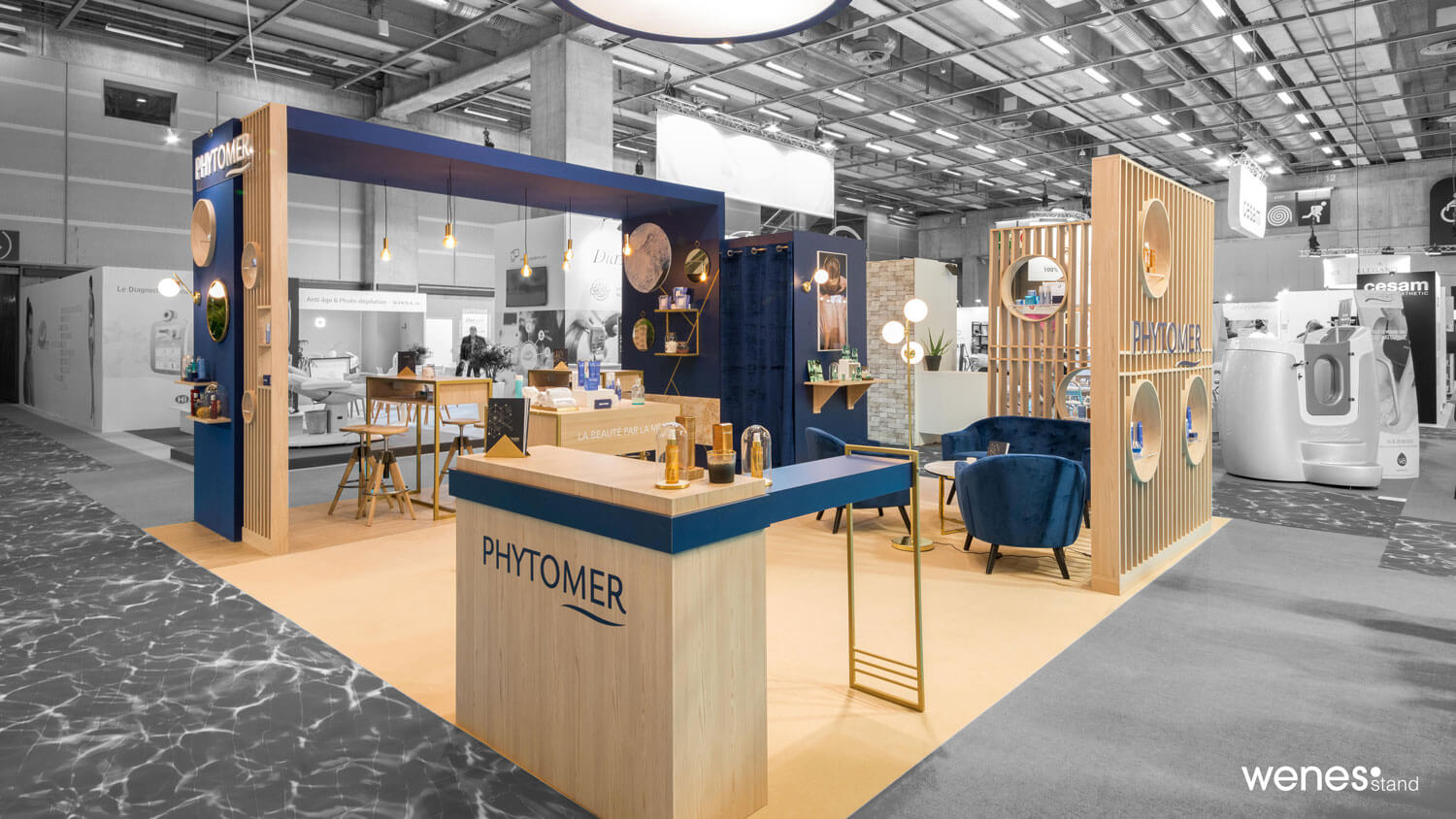 Stand d'exposition Phytomer