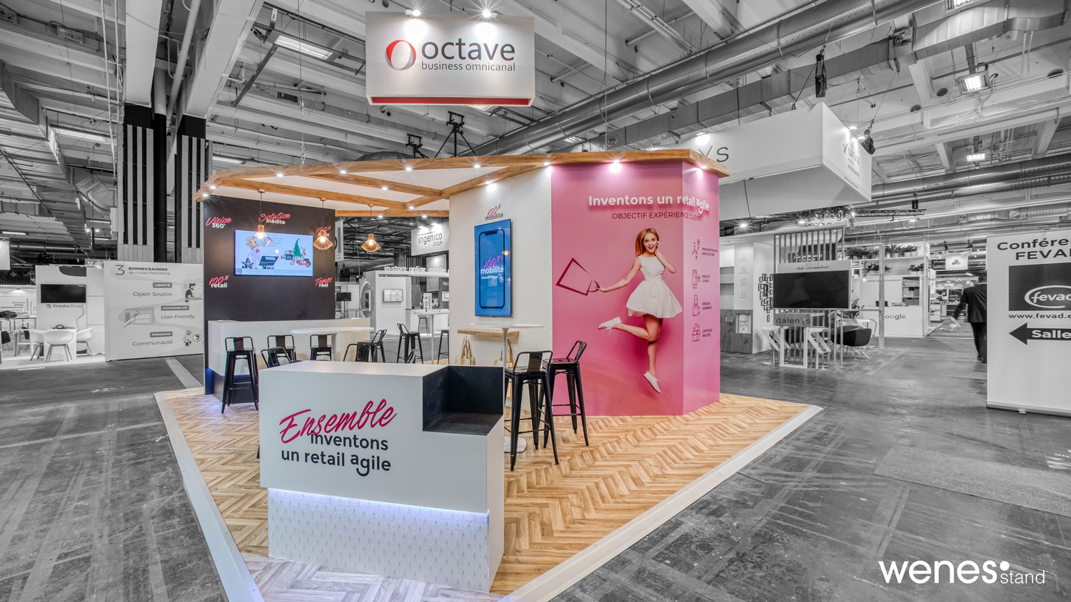 Stand Octave au salon Paris Retail Week