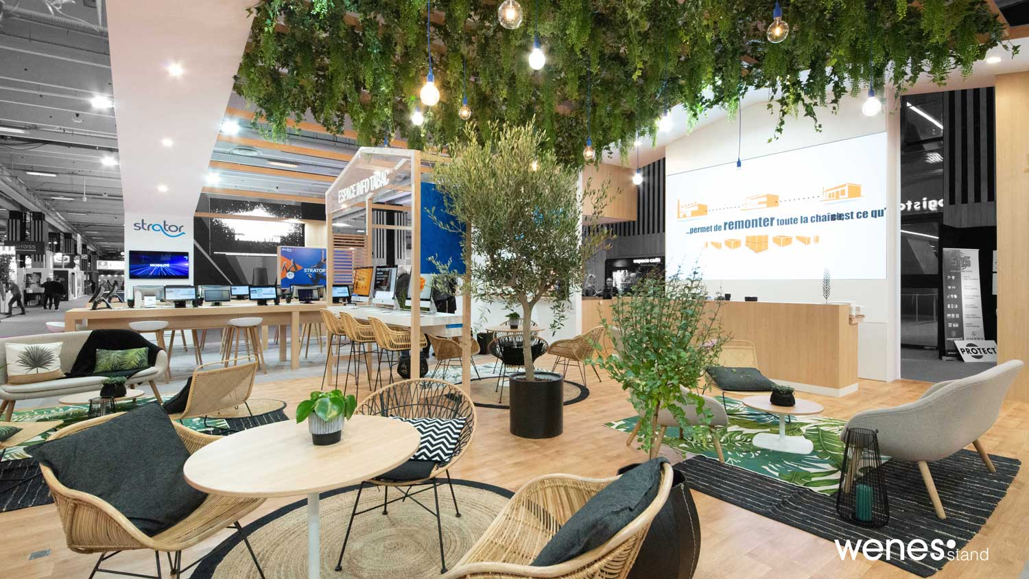 Espace cosy stand